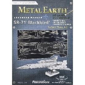 Sr-71 blackbird - metal 3d puzzle