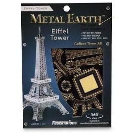 จิ๊กซอว์โลหะ 3 มิติ : eiffel tower