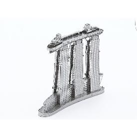 Marina bay sands - metal 3d puzzle