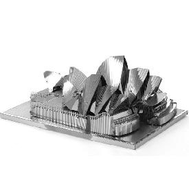Sydney Opera House - Metal 3D Puzzle