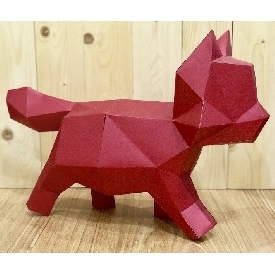 Paper craft - kitten