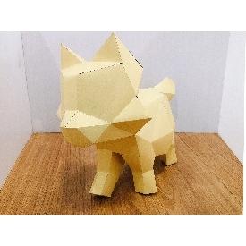 Paper craft - kitten