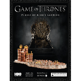 จิ๊กซอว์ 3 มิติ : game of thrones puzzle of king's landing