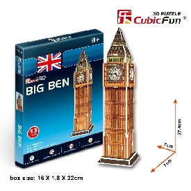 Free gift 3d puzzle big ben