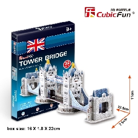 Free gift 3d puzzle tower bridge
