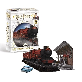 3d puzzle - harry potter hogwarts - express