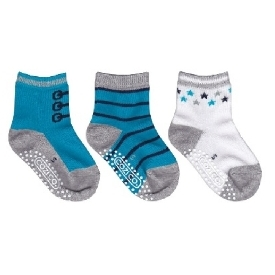 kids sock - Blue  Star set (Pack 3 pairs)