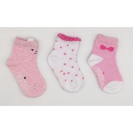 Kids sock - pinky bear set pack 3 pairs)