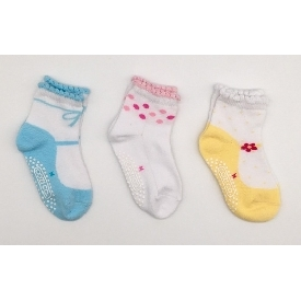 Kids sock - sweet colorful set pack 3 pairs)