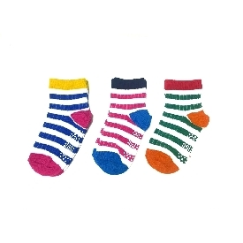 kids sock - Colorful Stripe BOYS set (Pack 3 pairs)
