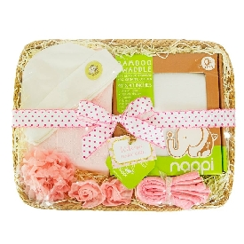 Baby gift basket - girl (s)