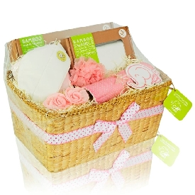 Baby gift basket - girl (m)