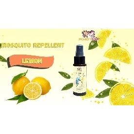 Monkeypony mosquito repellent spray 60 ml. - lemon
