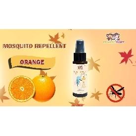 Monkeypony mosquito repellent spray 60 ml. - orange