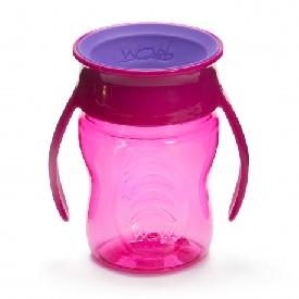 แก้วน้ำหัดดื่ม wow baby - สีชมพู