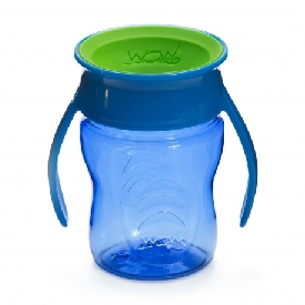 Wow baby training cup - blue