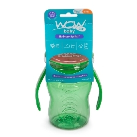 Wow baby training cup - green