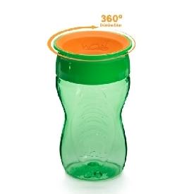 แก้วน้ำหัดดื่ม wow kids - สีเขียว