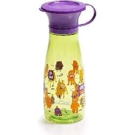 แก้วหัดดื่ม wow mini - สีเขียว/ม่วง