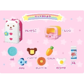 Mell chan - microwave oven and refrigerator play set