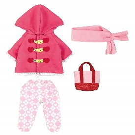 MELL CHAN Dress Up Kit - Pink Duffle Coat