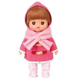 เมลจัง - ชุดกันหนาวสีชมพู