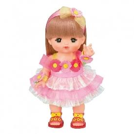 Mell chan dress up kit - floral dress set