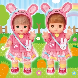 Mell chan dress up kit - rabbit jacket
