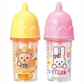 Mell chan - milk & orange juice bottle