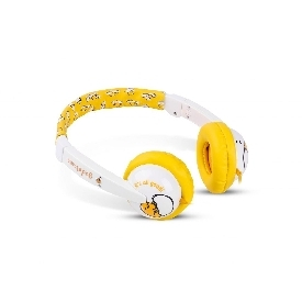 Kids safe headphone with volume limiter - gudetama