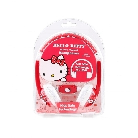 Kids Safe Headphone with Volume Limiter - Hello Kitty