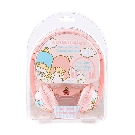 Kids safe headphone with volume limiter - little twin stars