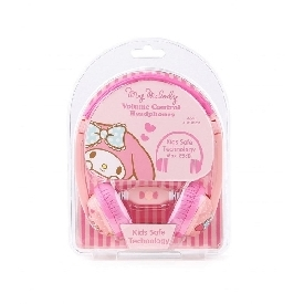 Kids safe headphone with volume limiter - my melody