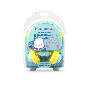 Kids Safe Headphone with Volume Limiter - Pochacco
