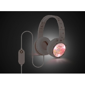 Kids blinking headphones with mic & vol control - little twin stars