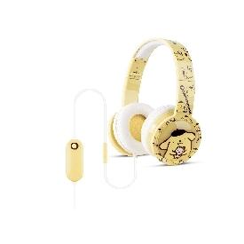หูฟังเด็กแบบควบคุมระดับเสียง+ไมโครโฟน - ปอมปอมปูริน