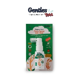 Organic oral care spray for kids - apple flavor