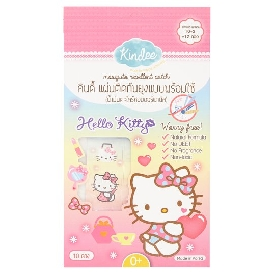 Kindee mosquito repellent patch ready-to-use - hello kitty