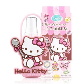 Kindee sanitizer spray multi purpose cleanser 30ml - hellokitty