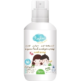 Kindee organic hand sanitizer spray 60ml. - sweet orange