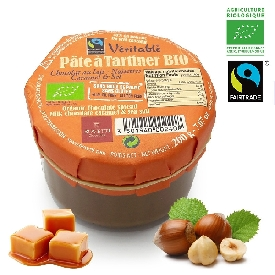 Organic Milk Chocolate and Caramel Spread (200g)