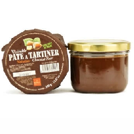 Organic traditional hazelnut and dark chocolate spread (200g)