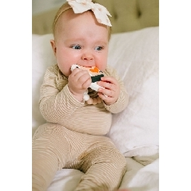 Ebi silicone teether holder set