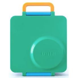กล่องอาหาร omiebox สีเขียว