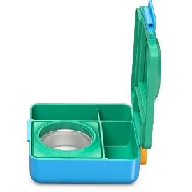 กล่องอาหาร omiebox สี้เหลือง