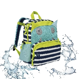 Lassig medium backpack - little monsters bouncing bob