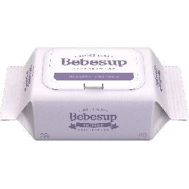 Bebesup wet wipes premier 20 cap