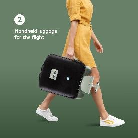 Micro luggage eazy cactus green