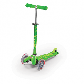 Mini Micro Deluxe Scooter - Green