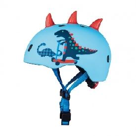 หมวกกันน็อคสำหรับเด็ก ลาย 3d scootersaurus ไซส์ s